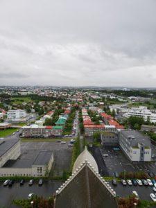 Hallgrímskirkja Rooftop View